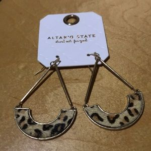 Cheetah earrings from Alter'd State